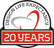 20 Years Design Life Expectancy