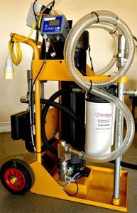 Mobile Diesel Fuel Filtration Trolley