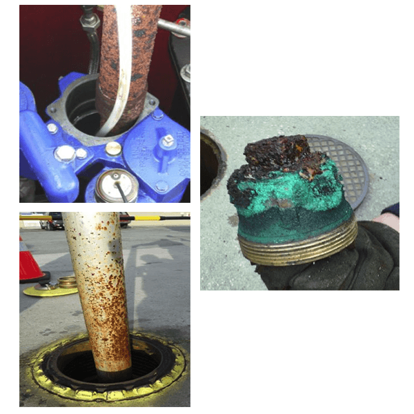 Corroded ULSD Tank equipment